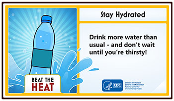 share our tips - beat the heat