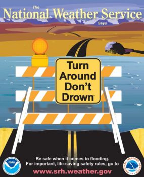National Weather Service - Turn Around Don't Down