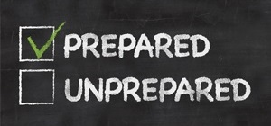 Are you prepared for disasters?