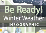 Be Ready! Winter Weather Infographic