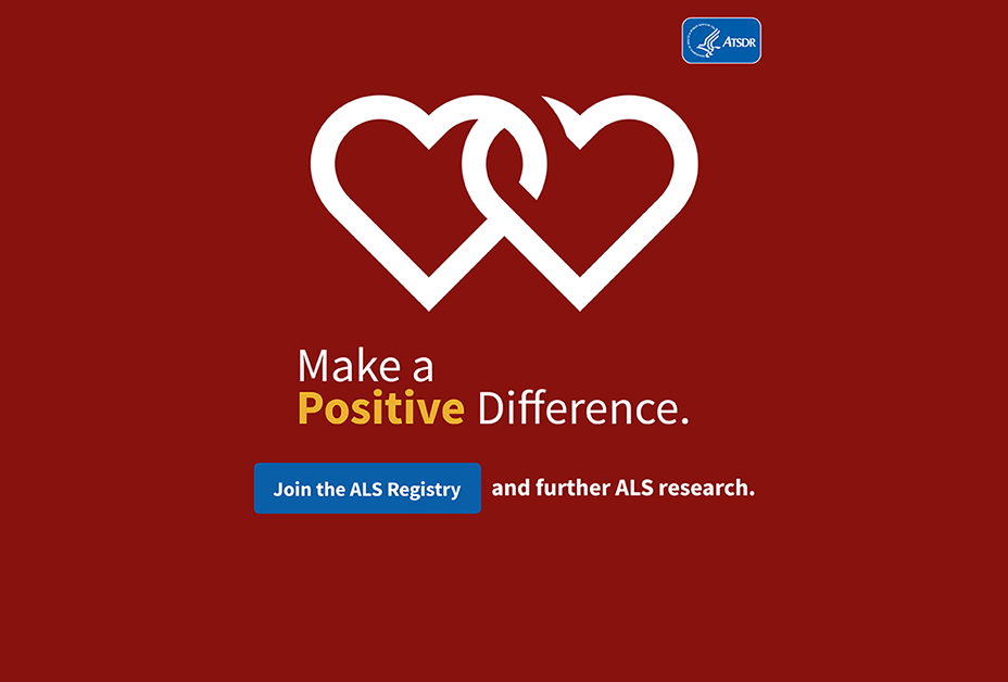 Make a Positive Difference: Join the ALS Registry and further ALS research