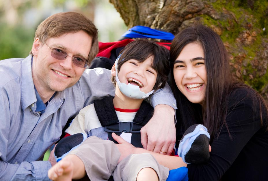 Family Living with Cerebral Palsy