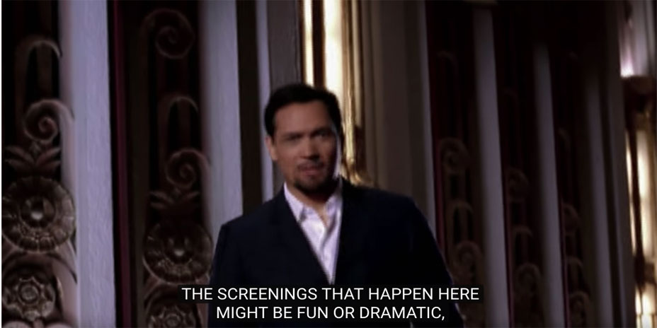 Thumbnail of Jimmy Smits' The Screening video