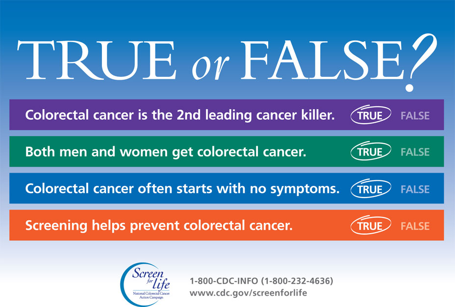 Infographic: True or False