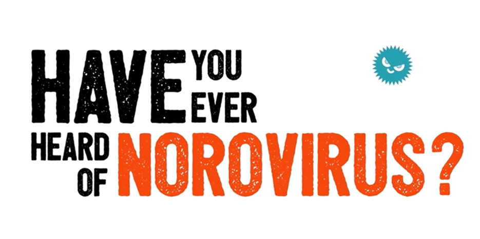 Screenshot of Have You Ever Heard of Norovirus? video