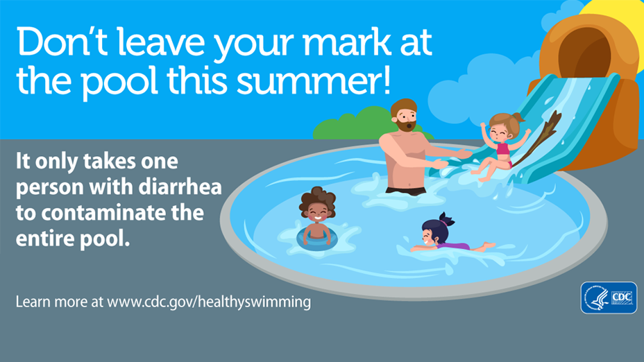 Don't leave your mark at the pool this summer!