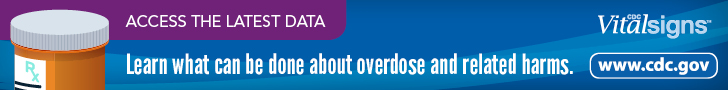 Access the latest data. Learn what can be done about overdoseand related harms. CDC VitalSigns