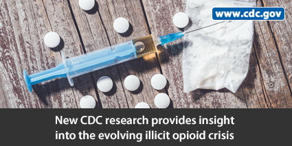 New CDC research provides insight into the evolving illicit opioid crisis. www.cdc.gov