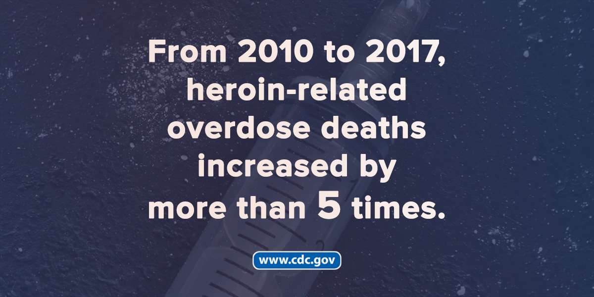 Since 2010, heroin overdose death rates have more than quadrupled.