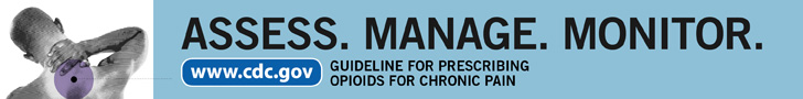 Assess. Manage. Monitor. www.cdc.gov Guideline for Prescribing Opioids for Chronic Pain