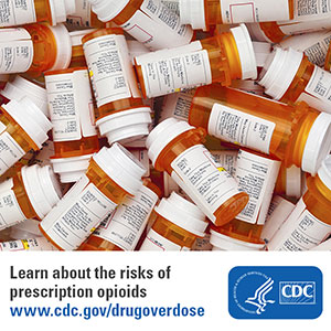 Learn about the risks of prescription opioids. www.cdc.gov/drugoverdose