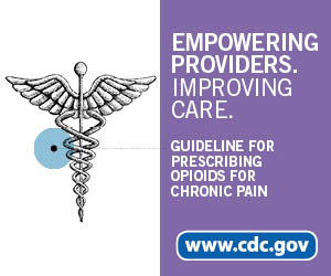 Empowering providers. Improving care. Guideline for Prescribing Opioids for Chronic Pain. www.cdc.gov