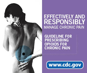 Effectively and responsibly manage chronic pain. Guideline for Prescribing Opioids for Chronic Pain www.cdc.gov