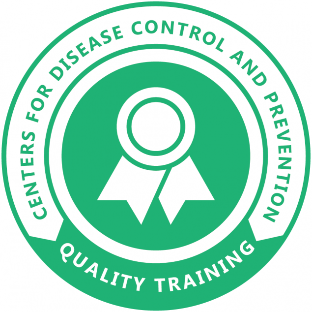 CDC Quality Training Standards Badge