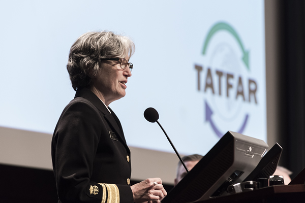 Acting CDC Director Anne Schuchat was one of two keynote speakers at the 2018 TATFAR meeting.