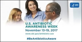 2017 U.S. Antibiotic Awareness Week Efforts