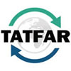 TATFAR logo graphic'