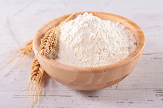 image of bowl of flour