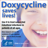 Doxycycline Save Lives Banner