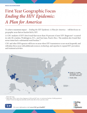 Ending HIV Geographic Focus