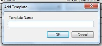 Image of the Add Template dialog.