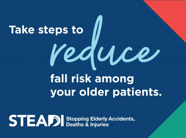 take steps to reduce fall risk among your older patients