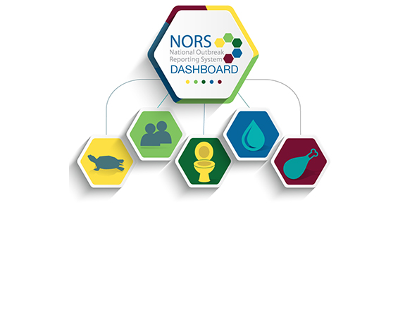 National Outbreak Reporting System (NORS) Dashboard logo