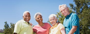 Photo: A group of senior adults