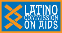 Logo: Latino Commission on AIDS