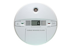 Carbon monoxide detector and alarm