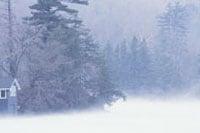 Photo: A snow storm.