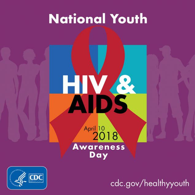 Graphic: National Youth HIV & AIDS Awareness Day