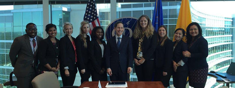 Fellows in the Presidential Management Fellows (PMF) Program at CDC attending a mentoring session with Dr. Tom Frieden, CDC Director. Atlanta, GA (2015)