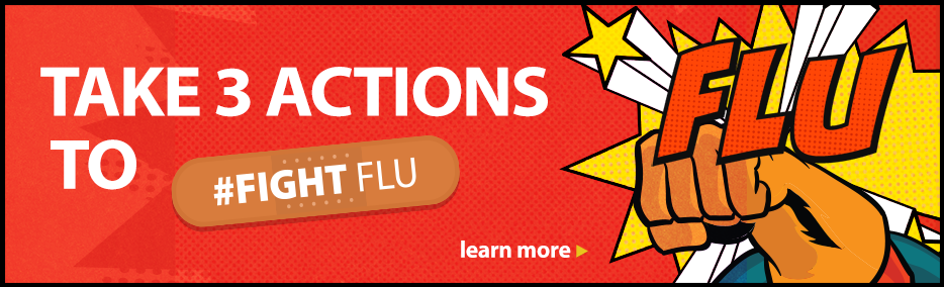 Take 3 Actions to #FightFlu
