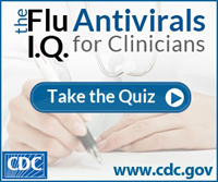 Influenza Antiviral Quiz for Clinicians