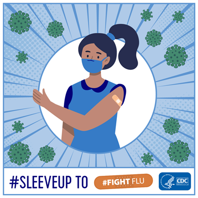 sleeve up to fight flu