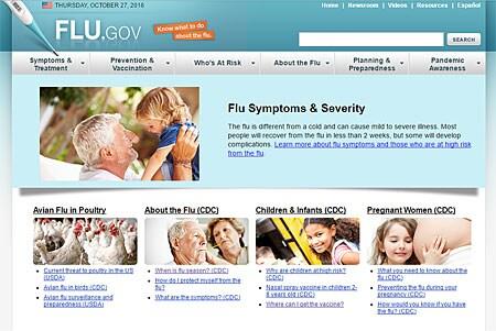 Flu.gov se está mudando a CDC.gov/flu