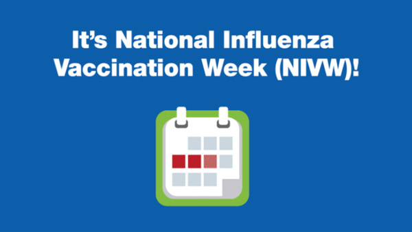 It's National Influenza Vaccination Week (NIVW)!
