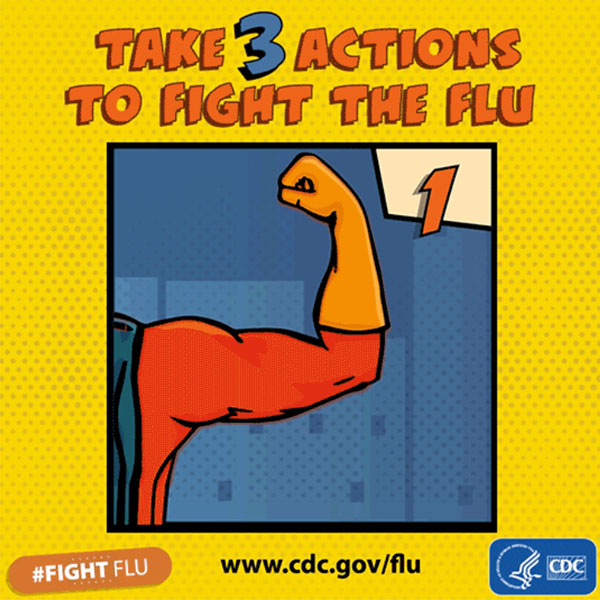 3 Actions to Fight Flu