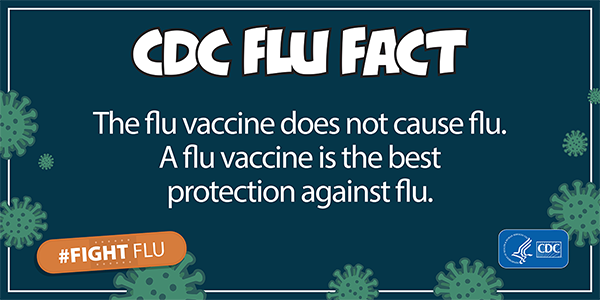 CDC Flu Alert: The flu vaccine does not cause the flu