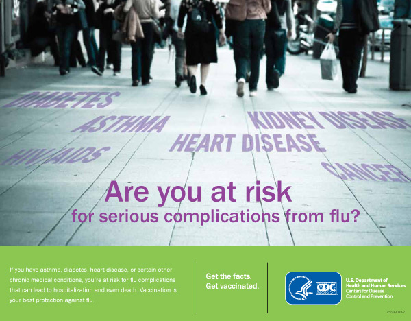 #Fight Flu: Are you at Risk for Serious Complications from Flu?