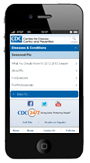 CDCs mobile web site provides a subset of flu content, tailored for viewing on iPhones, Android, and other handheld devices.