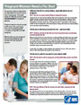 Pregnant Women and the Flu Shot, a fact sheet