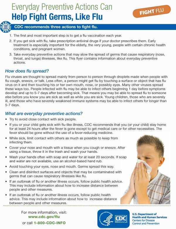 Medidas de prevención diarias