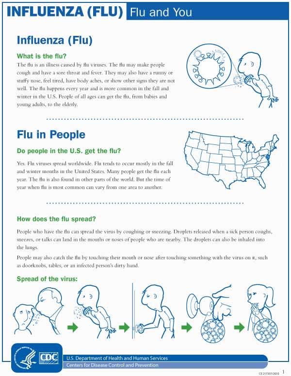 La influenza y usted