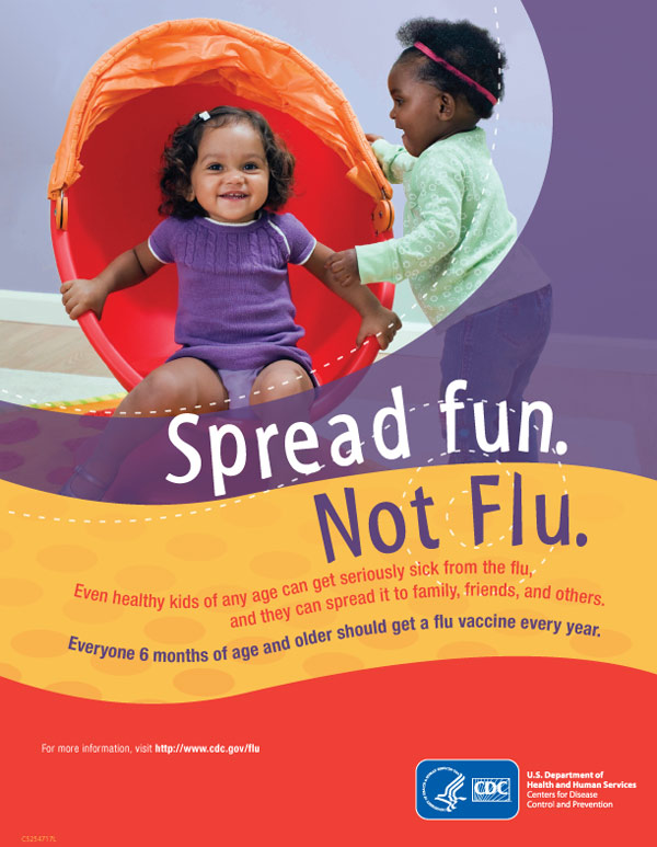 Spread Fun, Not Flu poster image