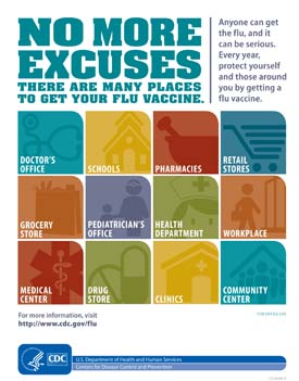 Places to Get Your Flu Vaccine
