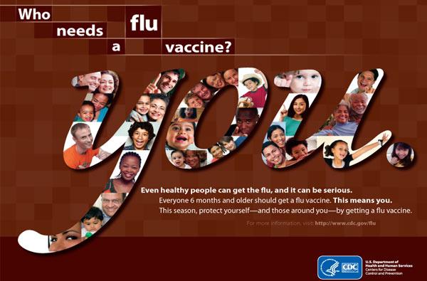 ¿Quién necesita una vacuna contra la influenza? Usted.