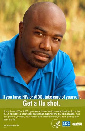 Flu Vaccine: People with HIV