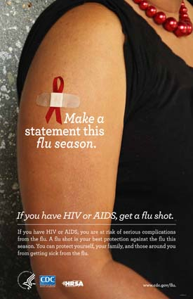 Flu Vaccine Statement: People with HIV